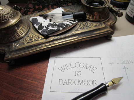 Illustrations for Welcome to Darkmoor